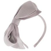 Karina - French Couture Large Bow Headband - Light Lavender #K10848X1