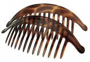 France Luxe Large Interlocking Comb Pair