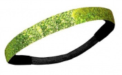 Lime Glitter Headband by Kenz Laurenz - Elastic Stretch Sparkly Fashion Headbands for Teens Girls Women Softball Pack Volleyball Basketball Set Sports Teams Store