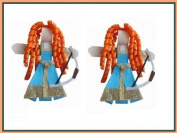 2pc Set Brave Hair Bow Clips - Disney