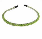 HotEnergy Woman Mini Sweet Hair Accessory Beaded Hair Hoop Headband