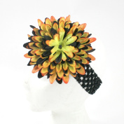 Large Flower on Crochet Headband