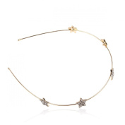 Fashion Stars Rhinestone Slender Finespun Hair Accessory Headband