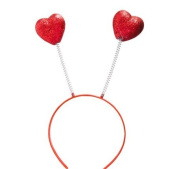1 ~ Sparkle Heart Head Bopper ~ Child-size ~ New ~ Valentine Headband