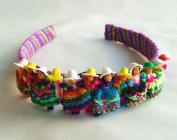 Cholita Worry Doll Purple Base Headband
