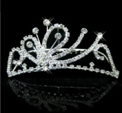 RayHot Gorgeous Rhinestone Bridal Tiara/Headpiece FS10011