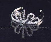 Crystal Tiara for Wedding, Prom, Pageant, Quinceañera or Other Special Event