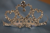 (SMALL)Elegant Bridal Wedding Tiara Crown with Crystal Party Accessories DH4065