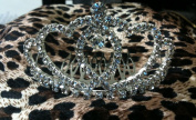 (SMALL)Elegant Bridal Wedding Tiara Crown with Crystal Party Accessories DH5293-L