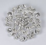 Sparkling Rhinestone Crystal Bridal Brooch for Wedding, Prom, Quinceañera or Other Special Events #D1HAcs