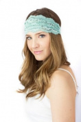 Mint Lace Headband