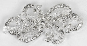 Sparkling Rhinestone Crystal Bridal Brooch for Wedding, Prom, Quinceañera or Other Special Events #D2J1cs