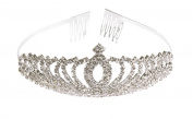 Bridal Pageant Rhinestone Crystal Prom Wedding Tiara Crown