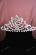 . Rhinestone Small Flower Girl Comb Bridal Wedding Pageant Prom Pageant