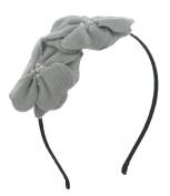 Girls Womens Double Felt Flower Headband Hairband Accessory