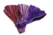3 Fun Bohemian Soft Headbands - Pink, Purple, Red
