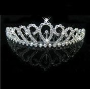 RayHot Gorgeous Clear Crystals Bridal Tiara FG10015