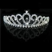 RayHot Gorgeous Clear Crystals Bridal Tiara FG10015