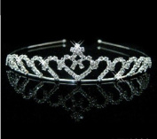 RayHot Gorgeous Clear Crystals Wedding Tiara FG10016
