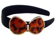 W & Hstore Crystal Decor Satin Head Band Hairband