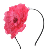 Big Flower Headband Hair Accessory for Kids Girls Teens Women