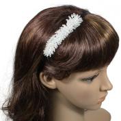 Rocking Carefree Bead Crystal Bunch 0.6cm Headband - Various Colours