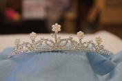 (BIG)Elegant Bridal Wedding Tiara Crown with Crystal Party Accessories DH4493