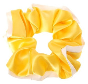 L. Erickson USA Edged Scrunchie - Silk Charmeuse