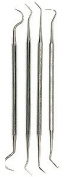 SE - Probe Set - Double Ended, Stainless Steel, 4 Pc