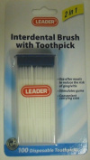 Leader Interdental Brush Picks 100 ct.
