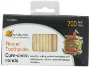 700 Pcs Round BrushPicks Toothpicks