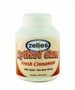 Zellies Cinnamon Gum, 100 Count Jar