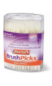 The Doctor's BrushPicks Toothpicks, 250 Picks