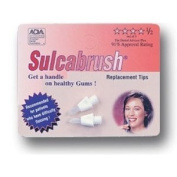 Sulcabrush Combo - Purchase 48 Tips and Get a FREE Sulcabrush Handle and Travel Pouch