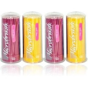 MFA400 PT# MFA400- Microbrush Applicator Fine Yellow/Pink 400/Pk by, Microbru...