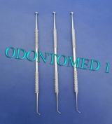 3 Ball Burnisher # 27/29 De Dental Amalgam Instruments