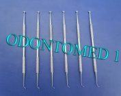6 Ball Burnisher # 27/29 De Dental Amalgam Instruments