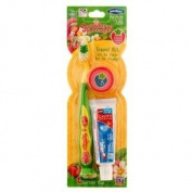 Strawberry Shortcake Toothbrush Toothpaste Cap Travel Kit
