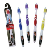 BrushBuddies Justin Bieber 00308-72 Manual Toothbrush for Adult or Teen