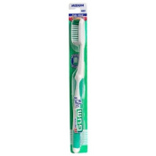 Butler G-U-M Super Tip Toothbrush, Full Head, Medium 462 , 2 Toothbrushes