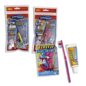 Kid's Toothbrush & Toothpaste Travel Kit