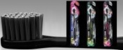 DentalPro Black Medium Compact Toothbrush