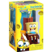 SpongeBob Squarepants Great Smile Toothbrush Set, 3pc