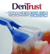 DenTrust 3-Sided BRACES BRUSH ::