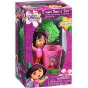 Dora the Explorer Toothbrush Holder with Cup Set 3pc
