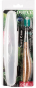 Radius Toothbrushes Source Medium Travel Pack, 1 Pc