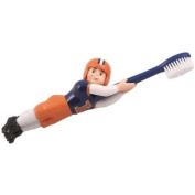 Illinois Fighting Illini 18cm Bathroom Toothbrush - Set of 2 - NCAA College Athletics
