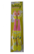 Warner Bros 2pk Tweety Bird Toothbrush Set - Tweety Toothbrush Pack