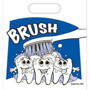 Oral Choice 3435-B Brush Teeth Small Gift Bag 25 pcs