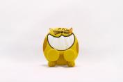 Keikihouse Toothbrush Holder - Cat Yellow